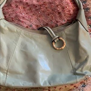 Small turquoise purse